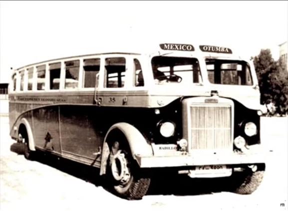 autobus antiguo teotihuacan