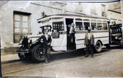 autobus antiguo